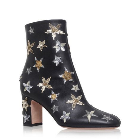 Starstudded 75 Ankle Boots, ${color}