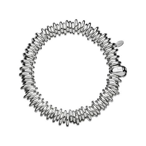 Sterling Silver Sweetie Charm Bracelet, ${color}