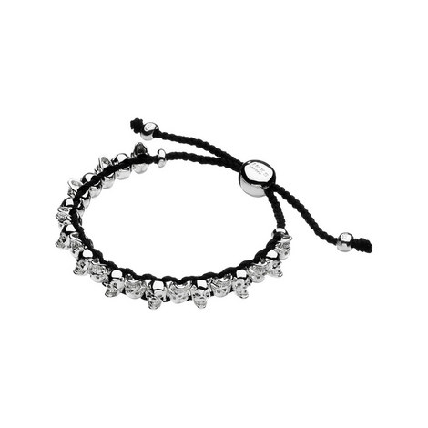 Friendship Skull Cord Bracelet, ${color}