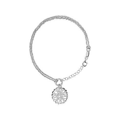 Sterling Silver Dreamcatcher Bracelet, ${color}