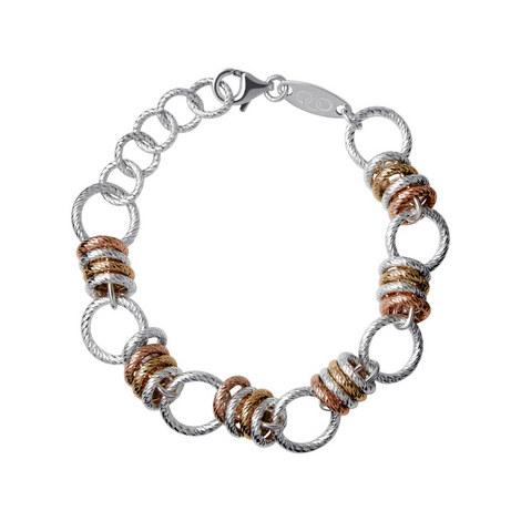 Aurora Link Bracelet Large, ${color}