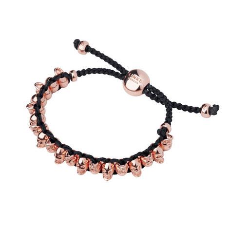 Two-Tone Skull Friendship Bracelet, ${color}