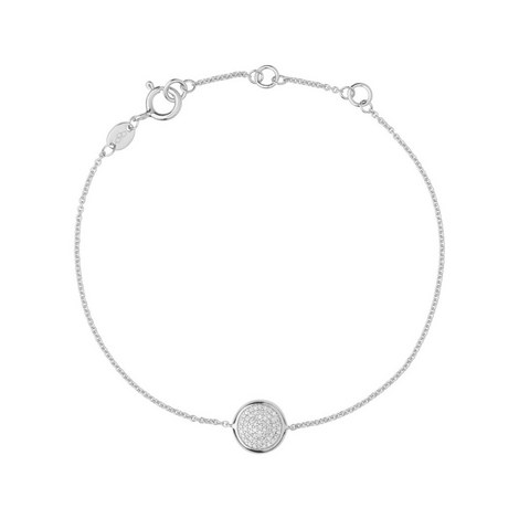 Diamond Essentials Round Pavé Bracelet, ${color}