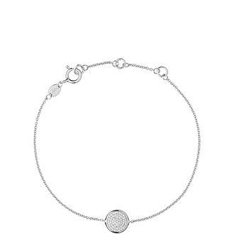 Diamond Essentials Round Pavé Bracelet