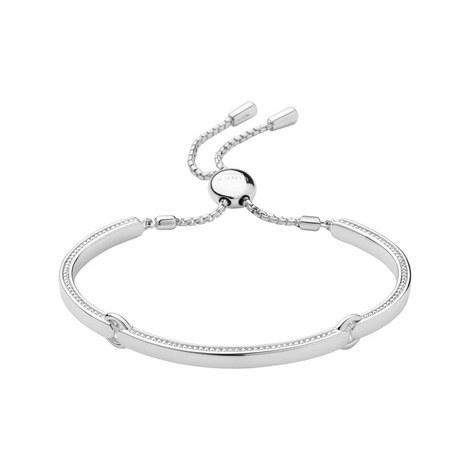 Narrative Sterling Silver Bracelet, ${color}