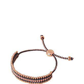 Friendship Skull Cord Bracelet
