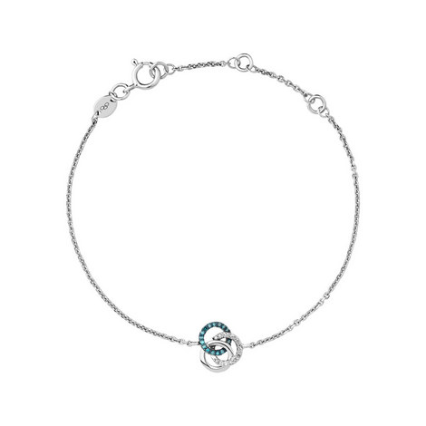 Treasured Diamond Looped Bracelet, ${color}
