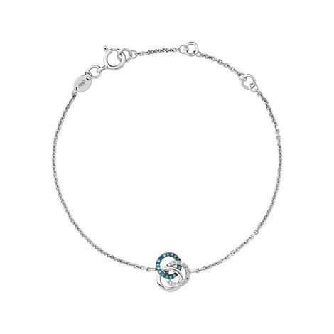 Treasured Diamond Looped Bracelet, ${color}