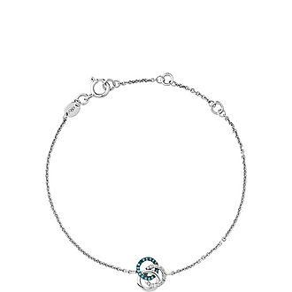 Treasured Diamond Looped Bracelet