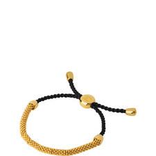 Effervescent Woven Beaded Bracelet