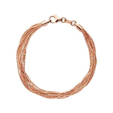 Essentials Silk 10 Row Bracelet, ${color}