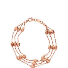 Essentials 3 Row Beaded Bracelet