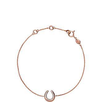 Ascot Diamond Essentials Horseshoe Bracelet