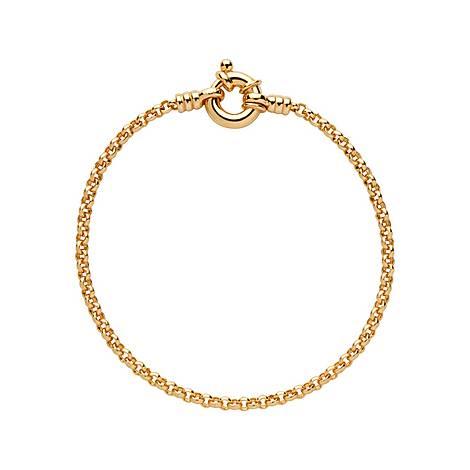 Vermeil Mini Belcher Bracelet, ${color}
