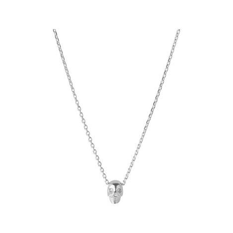 Mini Skull Necklace, ${color}