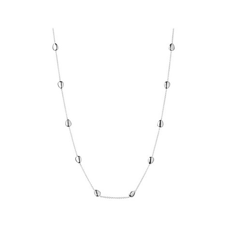 Hope Sterling Silver Necklace 60cm, ${color}