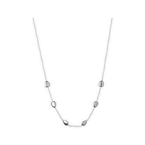 Hope Sterling Silver Necklace 45cm, ${color}
