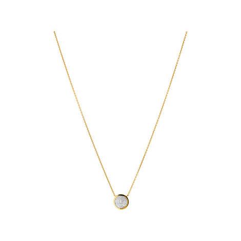Diamond Essentials Pavé Necklace, ${color}