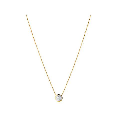 Diamond Essentials Pavé Necklace, ${color}