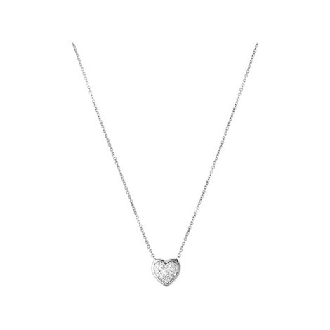 Diamond Essentials Heart Necklace, ${color}