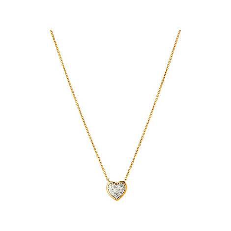 Diamond Essentials Heart Necklace, ${color}