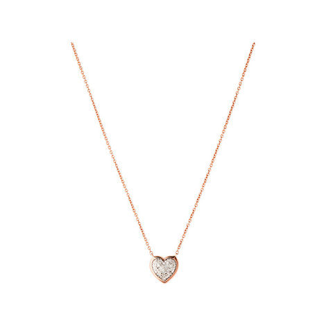 Diamond Essentials Heart Pavé Necklace, ${color}