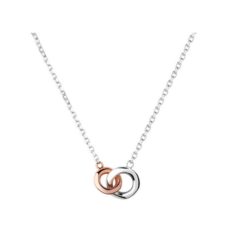 20/20 Two-Tone Necklace Mini, ${color}