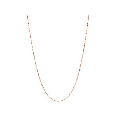 Essentials Vermeil Cable Chain 45cm, ${color}