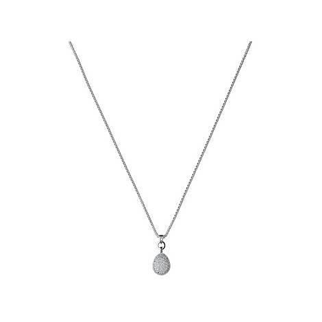 Silver and Topaz Pendant Necklace, ${color}