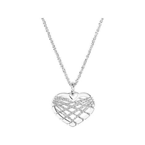 Dreamcatcher Heart Necklace, ${color}