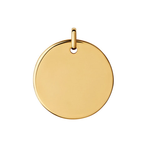 Narrative Round Disc Pendant Large, ${color}