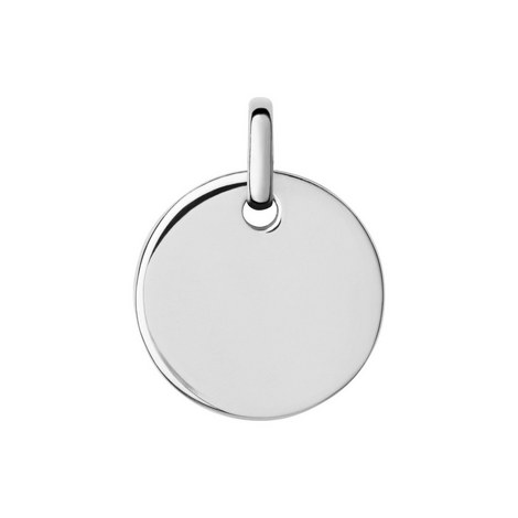 Narrative Round Disc Pendant Small, ${color}