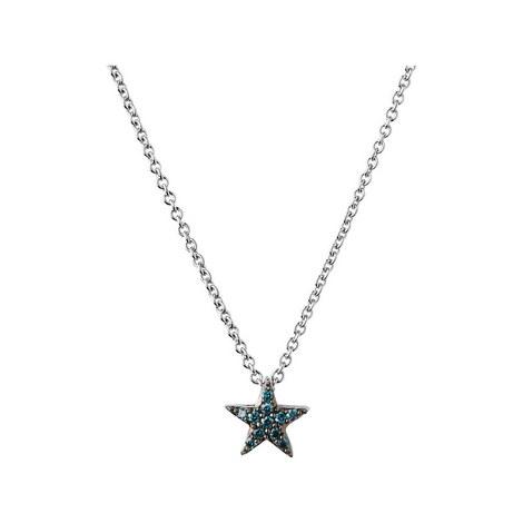 Diamond Essentials Blue Star Necklace, ${color}