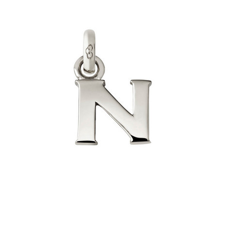 Sterling Silver 'N' Charm, ${color}