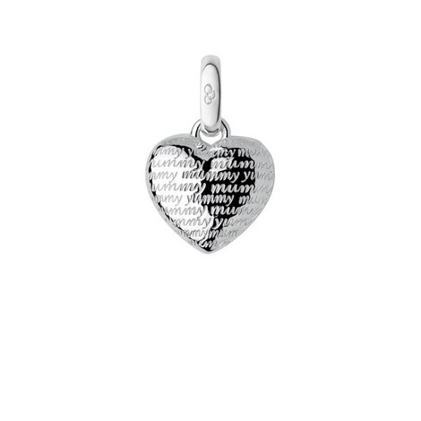 Sterling Silver Yummy Mummy Charm, ${color}