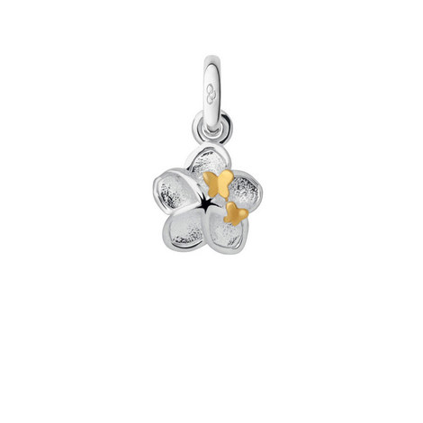 Flower and Butterfly Mini Charm, ${color}