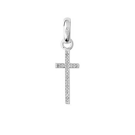Diamond Cross Charm, ${color}