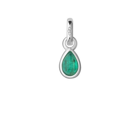 May Emerald Birthstone Charm, ${color}