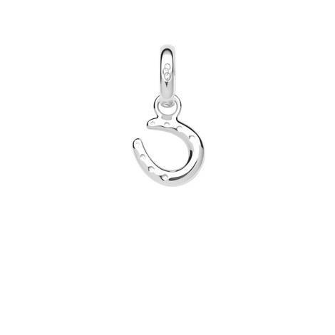 Ascot Silver Horseshoe Charm, ${color}