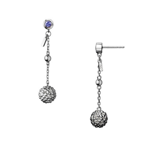 Effervescence Bubble Drop Earrings, ${color}
