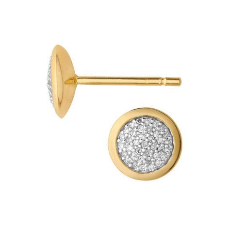 Diamond Essentials Pavé Earrings, ${color}