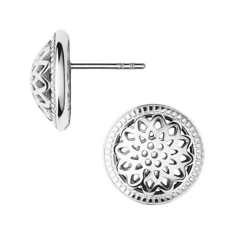 Timeless Domed Stud Earrings, ${color}