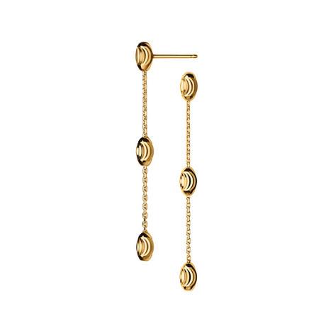 Essentials Beaded Drop Earrings, ${color}