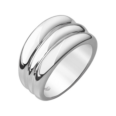 Hope Sterling Silver Triples Stack Ring, ${color}