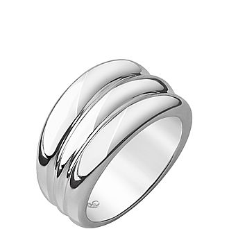 Hope Sterling Silver Triples Stack Ring