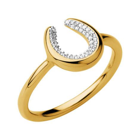 Ascot Diamond Essentials Horseshoe Ring, ${color}