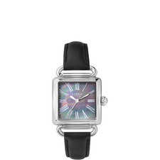 Driver Pearlised Leather Watch