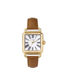 Driver Pearl Leather Watch