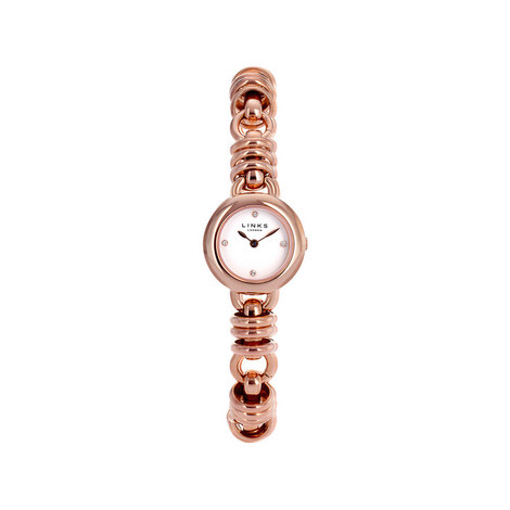 Sweetie Rose Gold Plate Bracelet Watch, ${color}