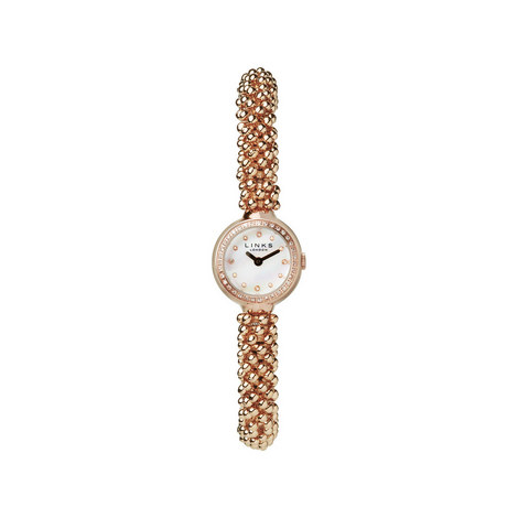 Effervescence Rose Gold Sapphire Watch, ${color}